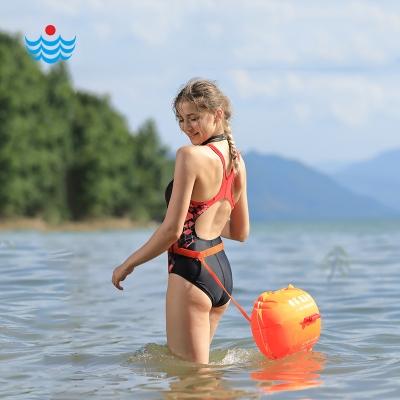 L903跟屁虫®第四代双气囊 大风浪适用 安全游泳浮漂 浪姿