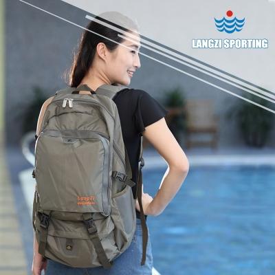 P-708多功能游泳双肩包 浪姿 干湿区分离 适用户外游泳