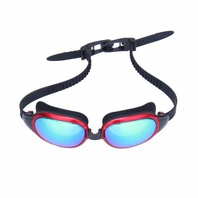 防雾大框游泳眼镜 成人男女平光游泳装备泳镜G102