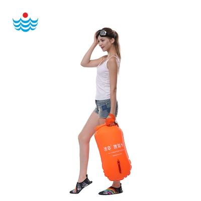 L-901浪姿 跟屁虫 可装衣物 游泳漂流袋  游泳浮漂