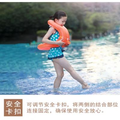 S跟屁虫小孩成人儿童游泳圈充气腋下圈救生浮圈装备男女宝宝3-6岁